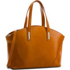 Torebka CREOLE - K10188 Koniak. Brązowe torebki klasyczne damskie Creole, ze skóry, duże. W wyprzedaży za 269,00 zł.