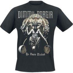 T-shirty męskie z nadrukiem: Dimmu Borgir In sorte diaboli T-Shirt czarny