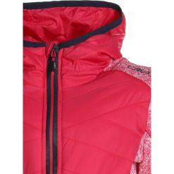 CMP GIRL FIX HOOD HYBRID JACKET  Kurtka Outdoor ibisco. Czerwone kurtki chłopięce przeciwdeszczowe CMP, z materiału, outdoorowe. Za 209,00 zł.