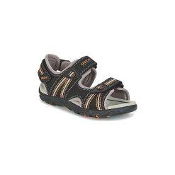 Sandały sportowe Dziecko  Geox  J S.STRADA A. Czarne buty sportowe chłopięce Geox. Za 231,20 zł.