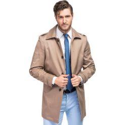 Płaszcz ARTURO PSES000062. Brązowe płaszcze na zamek męskie marki Cropp, na zimę, l, sportowe. Za 599,00 zł.