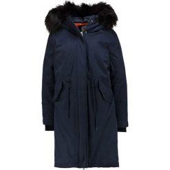 ONLY ONLSVEA OVERSIZED COAT  Płaszcz puchowy sky captain. Niebieskie płaszcze damskie puchowe ONLY, m, z bawełny. W wyprzedaży za 377,40 zł.
