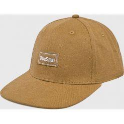 True Spin - Czapka Decent. Brązowe czapki z daszkiem męskie True Spin. W wyprzedaży za 49,90 zł.