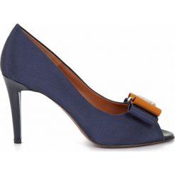 Buty ślubne damskie: Skórzane czółenka