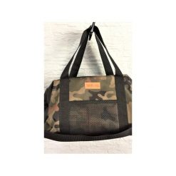 Sportowa torba Mili Fit Bag - black/moro. Zielone torby podróżne Militu, moro. Za 230,00 zł.