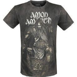 T-shirty męskie z nadrukiem: Amon Amarth Thor T-Shirt ciemnoszary