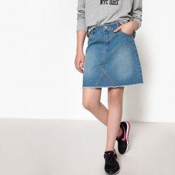 Odzież dziecięca: Prosta spódnica jeansowa 10-16 lat
