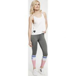 Spodnie damskie: GymHero Legginsy damskie Grey-Socks szare r. M