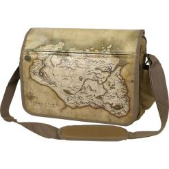 Skyrim Karte Torba na ramię beżowy. Brązowe torby na ramię męskie Skyrim, z nadrukiem, na ramię. Za 199,90 zł.