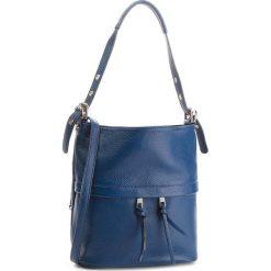Torebka CREOLE - K10555  Granat. Niebieskie torebki klasyczne damskie Creole, ze skóry. W wyprzedaży za 169,00 zł.