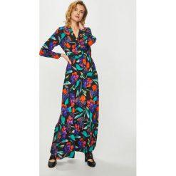 Only - Sukienka Chanell. Szare sukienki ONLY, na co dzień, s, z poliesteru, casualowe, z długim rękawem, maxi, rozkloszowane. Za 239,90 zł.