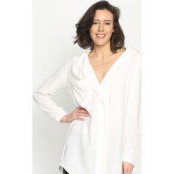 Biała Koszula Crepe Smooth. Białe koszule damskie Born2be, l. Za 69,99 zł.