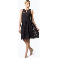 Esprit Collection - Damska sukienka wieczorowa, niebieski. Niebieskie sukienki hiszpanki Esprit Collection, w koronkowe wzory, z koronki, wizytowe. Za 449,95 zł.
