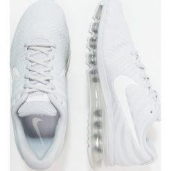 Nike Performance AIR MAX 2017 Obuwie do biegania treningowe pure platinum. Szare buty do biegania męskie marki Nike Performance, z materiału. W wyprzedaży za 599,25 zł.