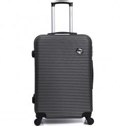 """Walizka """"London"""" w kolorze czarnym - 35 x 50 x 22 cm. Czarne walizki marki Hero & BlueStar, z materiału. W wyprzedaży za 173,95 zł."""