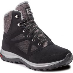 Trekkingi SALOMON - Ellipse Freeze Cs Wp 406132 21 V0 Black/Phantom/Beach Glass. Czarne buty trekkingowe damskie Salomon. Za 609,00 zł.