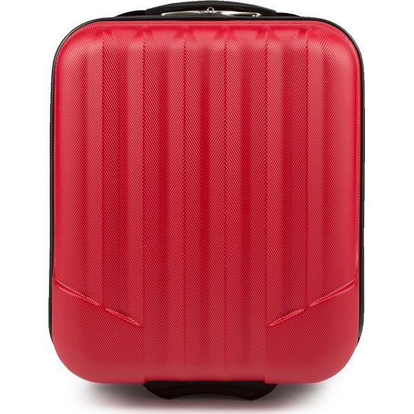 fad4bcc9740a6 Walizka kabinowa V25-10-232-35 - Czerwone walizki Wittchen, bez ...
