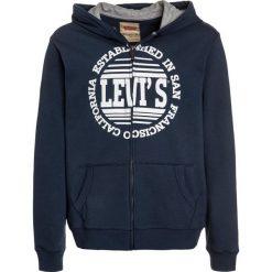 Levi's® ZIPPER Bluza rozpinana dress blue. Brązowe bluzy chłopięce rozpinane marki Levi's®, z bawełny. W wyprzedaży za 188,10 zł.
