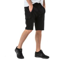 4f Spodenki męskie H4L18-SKMD004 czarne r. XXL. Czarne spodenki sportowe męskie marki Adidas, z bawełny. Za 69,00 zł.
