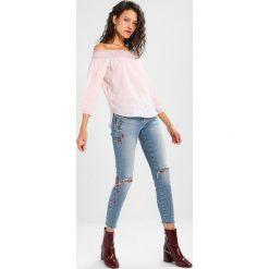 Bluzki asymetryczne: Abercrombie & Fitch BOHO PRINT Bluzka med pink