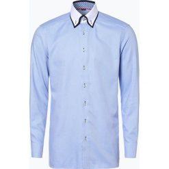 Finshley & Harding - Koszula męska, niebieski. Czarne koszule męskie marki Finshley & Harding, w kratkę. Za 119,95 zł.