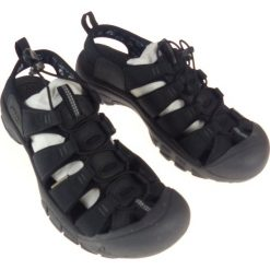 Sandały męskie: Keen Sandały męskie Newport Eco Black/Magnet r. 44.5 (1018803) [outlet]