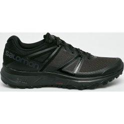Salomon - Buty Trailster Pha. Czarne buty trekkingowe męskie Salomon, z materiału, na sznurówki, outdoorowe. W wyprzedaży za 379,90 zł.