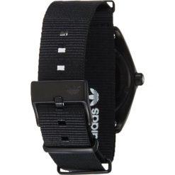 Adidas Timing PROCESS Zegarek all black/gunmetal. Czarne zegarki męskie marki Adidas Timing. W wyprzedaży za 503,20 zł.