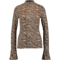 Bluzki damskie: Sparkz LIGAVA Bluzka z długim rękawem brown