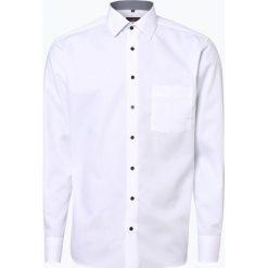 Eterna Modern Fit - Koszula męska niewymagająca prasowania, czarny. Czarne koszule męskie na spinki marki Eterna Modern Fit, m, z klasycznym kołnierzykiem. Za 199,95 zł.