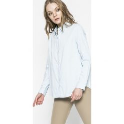 Levi's - Koszula. Brązowe koszule jeansowe damskie marki Levi's®, l, casualowe, z klasycznym kołnierzykiem, z długim rękawem. W wyprzedaży za 159,90 zł.