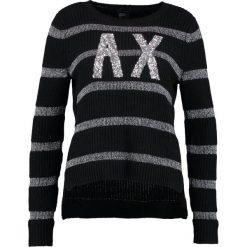 Odzież damska: Armani Exchange Sweter black