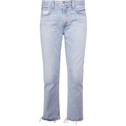 Jeansy damskie: Agolde CIGARETTE LOW SLUNG Jeansy Straight Leg vale