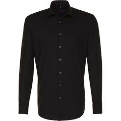 Seidensticker MODERN FIT Koszula biznesowa black. Czarne koszule męskie Seidensticker, m, z bawełny. Za 349,00 zł.