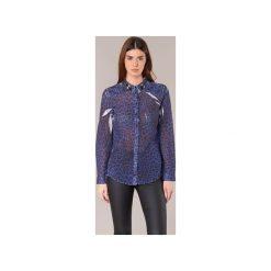 Koszule Guess  BORICE. Niebieskie koszule damskie Guess, l. Za 279,20 zł.