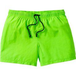 Bermudy męskie: Szorty plażowe Regular Fit bonprix zielony neonowy