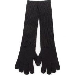 Rękawiczki Damskie UGG - W Long Cuff Knit Glove 17544 Black. Czarne rękawiczki damskie Ugg, z materiału. Za 209,00 zł.