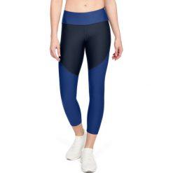 Spodnie sportowe damskie: Under Armour Spodnie damskie TB Balance Crop czarno niebieskie r. L (1305432-409)