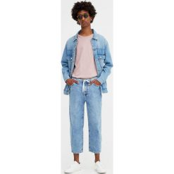 Jeansy extra loose fit. Szare jeansy męskie relaxed fit Pull&Bear. Za 139,00 zł.