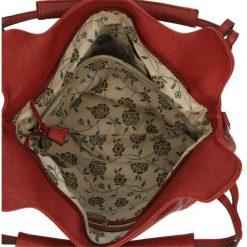 TOREBKA F09-2096. Brązowe torebki klasyczne damskie Casu. Za 79,99 zł.