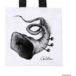 Trąbka - torba premium (kolory). Białe shopper bag damskie Pakamera, z materiału. Za 79,00 zł.