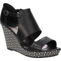 SANDAŁY TAMARIS 1-28030-36. Czarne sandały damskie marki Tamaris. Za 169,99 zł.