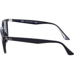 RayBan Okulary przeciwsłoneczne black. Szare okulary przeciwsłoneczne damskie lenonki marki Ray-Ban, z materiału. Za 539,00 zł.