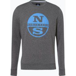 North Sails - Męska bluza nierozpinana, szary. Niebieskie bluzy męskie marki OLYMP SIGNATURE, m, paisley. Za 179,95 zł.