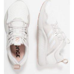 Adidas Performance EDGEBOUNCE Obuwie do biegania treningowe footwear white/grey one/ash pearl. Brązowe buty do biegania damskie marki adidas Performance, z gumy. Za 399,00 zł.