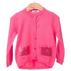 Primigi Sweter Dziewczęcy 116 Różowy. Czerwone swetry dziewczęce Primigi. W wyprzedaży za 115,00 zł.