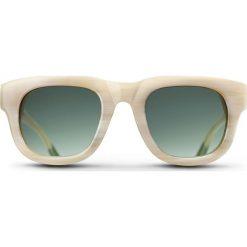 """Okulary przeciwsłoneczne """"Ivory Henry"""" w kolorze beżowo-zielonym. Brązowe okulary przeciwsłoneczne damskie lenonki marki Triwa, z tworzywa sztucznego. W wyprzedaży za 259,95 zł."""