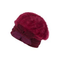 Czapka damska Verona bordowa. Czerwone czapki zimowe damskie Art of Polo. Za 49,91 zł.