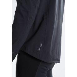 ODLO MORZINE RAIN            Kurtka przeciwdeszczowa black. Czarne kurtki trekkingowe męskie Odlo, m, z materiału. W wyprzedaży za 468,30 zł.