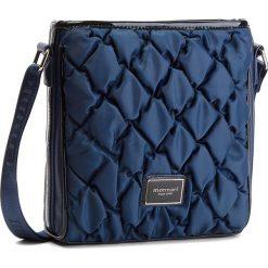 Torebka MONNARI - BAGB321-013 Granatowy. Niebieskie torebki klasyczne damskie Monnari, z materiału. W wyprzedaży za 169,00 zł.